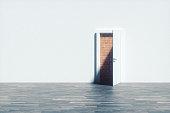Dead end door.