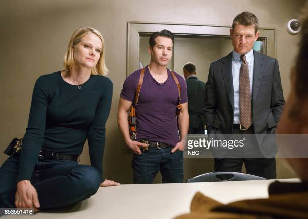 JUSTICE 'Dead Meat' Episode 106 Pictured Joelle Carter as Laura Nagel Jon Seda as Antonio Dawson Philip Winchester as Peter Stone