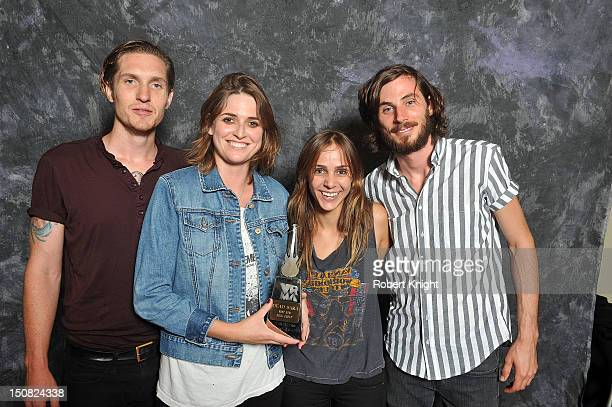 Dead Sara portraits at the Vegas Rocks Magazine Awards 2012 at the Joint at the Hard Rock Hotel and Casino on August 26 2012 in Las Vegas Nevada