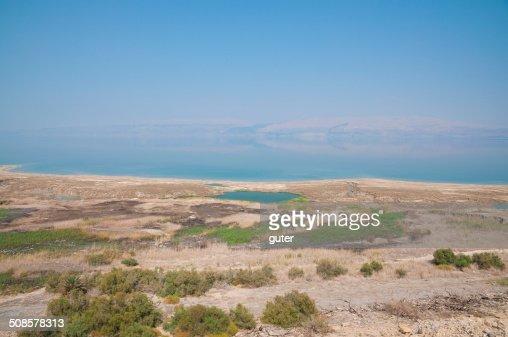 Dead sea landscape : Stock Photo