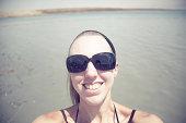 Dead Sea Selfie.