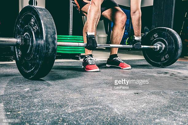 Crossfit deadlift