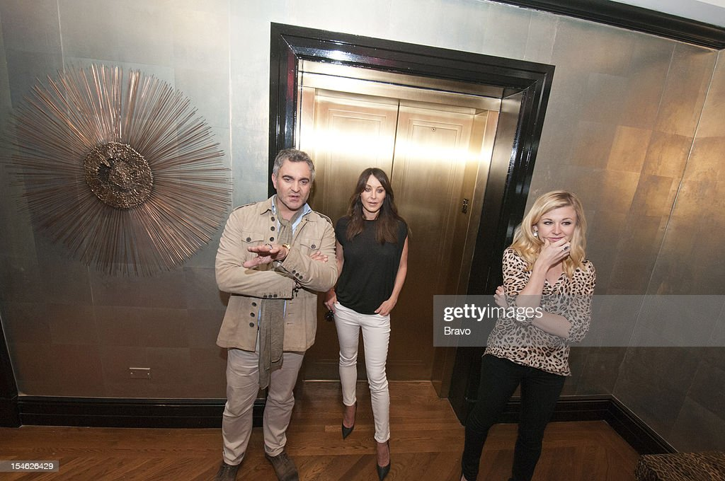 DECORATORS -- 'Deadlines, Wine, and High Design' Episode 201 -- Pictured: (l-r) Martyn Lawrence Bullard, <a gi-track='captionPersonalityLinkClicked' href=/galleries/search?phrase=Tamara+Mellon&family=editorial&specificpeople=204769 ng-click='$event.stopPropagation()'>Tamara Mellon</a>, Leura Fine --
