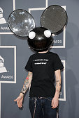 Deadmau5 arrives at the 54th Annual GRAMMY Awards held at Staples Center on February 12 2012 in Los Angeles California