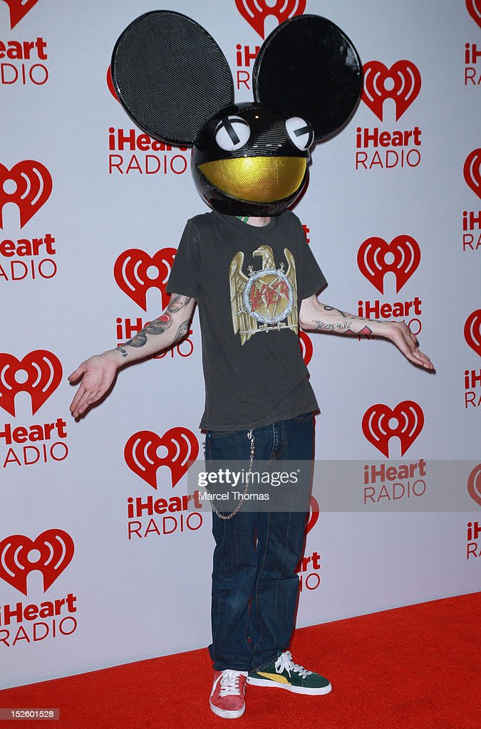 <a gi-track='captionPersonalityLinkClicked' href=/galleries/search?phrase=Deadmau5&family=editorial&specificpeople=5701846 ng-click='$event.stopPropagation()'>Deadmau5</a> attends day 2 of the 2012 iHeartRadio Music Festival at MGM Grand Garden Arena on September 22, 2012 in Las Vegas, Nevada.