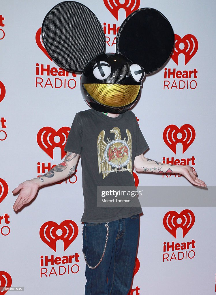 Deadmau5 attends day 2 of the 2012 iHeartRadio Music Festival at MGM Grand Garden Arena on September 22, 2012 in Las Vegas, Nevada.
