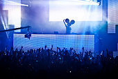 Deadmau5 performs at HARD x MOUTH TAPED SHUT at Hollywood Palladium on December 17 2011 in Hollywood California