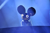 Deadmau5 performs at the 2015 JUNO Awards at FirstOntario Centre on March 15 2015 in Hamilton Canada