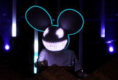Deadmau5 performs during day one of the Coachella Valley Music Arts Festival 2010 held at the Empire Polo Club on April 16 2010 in Indio California