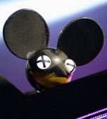 Deadmau5 performs during the 2013 Budweiser Made In America Festival at Benjamin Franklin Parkway on August 31 2013 in Philadelphia Pennsylvania