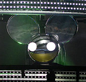 Deadmau5 performs during the 2015 ACL Music Festival at Zilker Park on October 3 2015 in Austin Texas