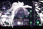 Deadmau5 performs onstage during 2015 Governors Ball Music Festival at Randall's Island on June 6 2015 in New York City
