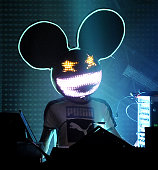 Deadmau5 performs part of his Meowington's Hax Tour at the Austin Music Hall on September 14 2011 in Austin Texas