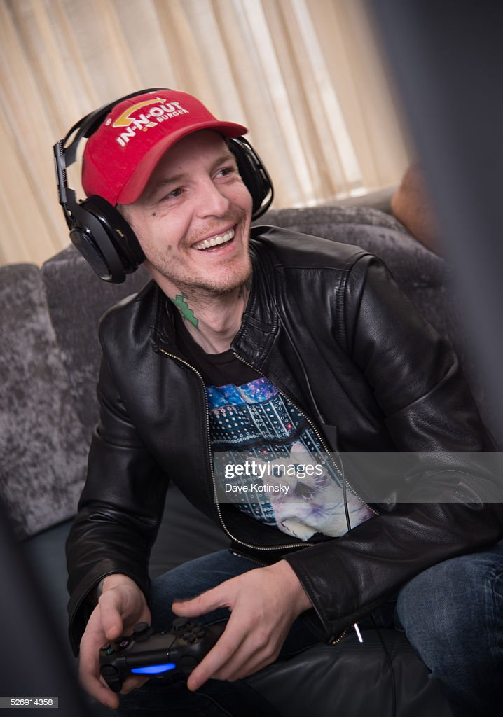 Deadmau5 takes on Typical Gamer in Call of Duty: Black Ops 3on May 1, 2016 in New York City.