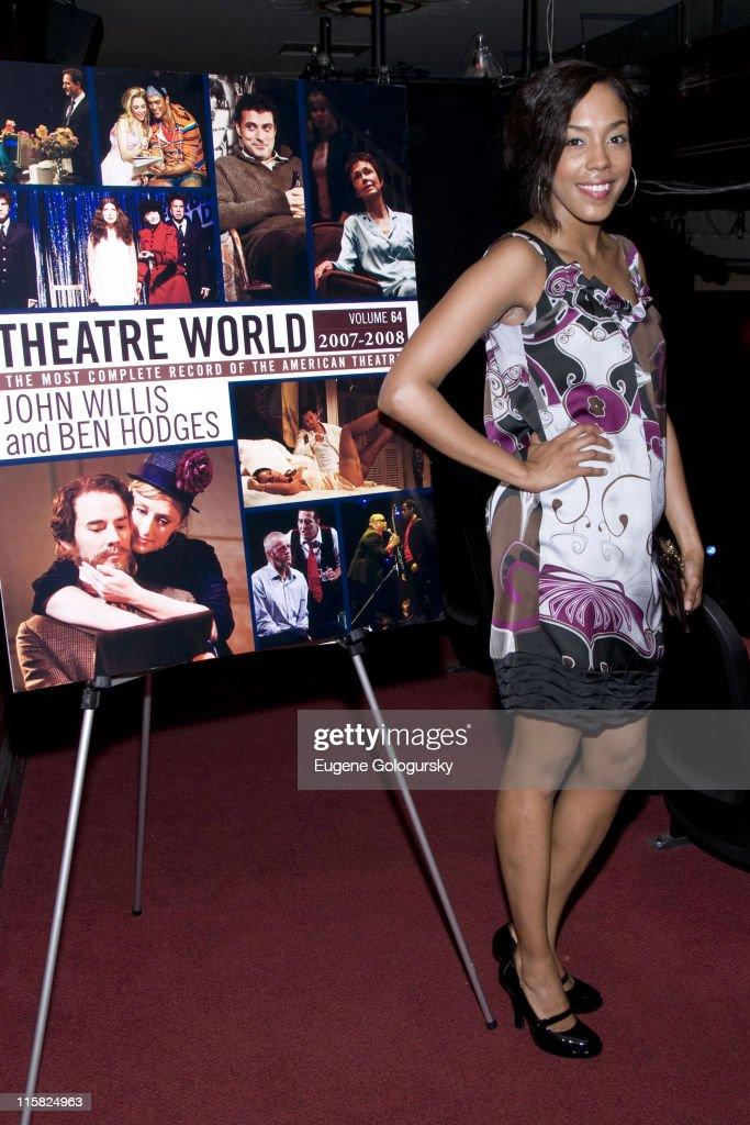De'Adre Aziza attends the 64th Annual Theatre World Awards on June 10 2008 at the Helen Hayes Theatre in New York City