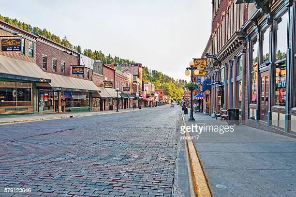 Deadwood South Dakota Historic Main Street