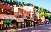 Historic Main Street. Deadwood, South Dakota, USA