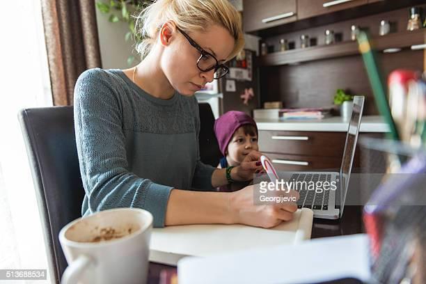 Umgang mit Arbeit und Familie