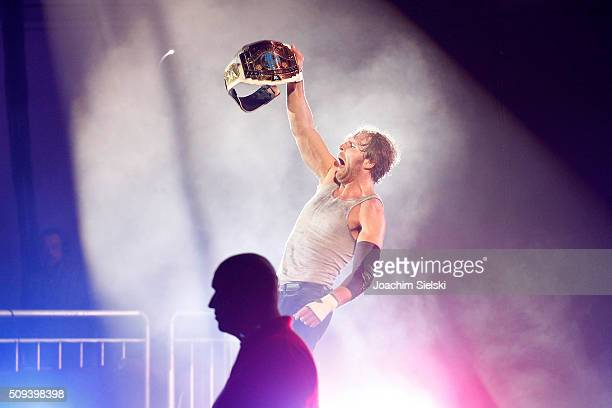 Dean Ambrose during WWE Germany Live Bremen Road To Wrestlemania at OVBArena on February 10 2016 in Bremen Germany