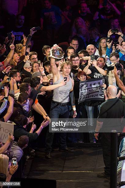 Dean Ambrose during WWE Road to WrestleMania at the Lanxess Arena on February 11 2016 in Cologne Germany