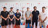 Dean Barker Softbank Team Japan Ben Ainslie LandRover BAR Glenn Ashby Emirates Team New Zealand Jimmy Spithill Oracle Team USA Nathan Outteridge...