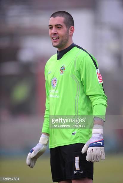 Dean Bouzanis Accrington Stanley goalkeeper