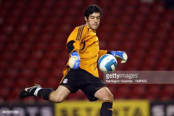Dean Bouzanis Liverpool goalkeeper