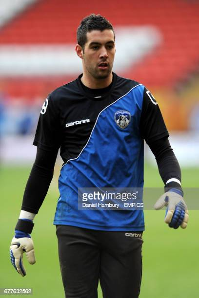 Dean Bouzanis Oldham Athletic goalkeeper
