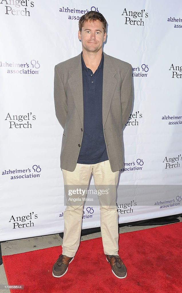 Dean Burlock arrives at the 'Angel's Perch' West Coast Premiere at Laemmle's Royal Theatre on July 17, 2013 in Los Angeles, California.