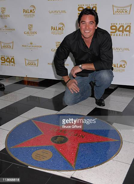 Dean Cain during Dean Cain Receives Star At Brenden Theatres During 944 Magazine's Celebrity Screening Of 'Superman Returns' at Palms Casino Resort...