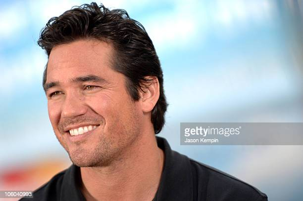 Dean Cain during Mastercard 'Win 500 Flights' National Sweepstakes With Dean Cain July 6 2006 at Union Square Park in New York City New York United...