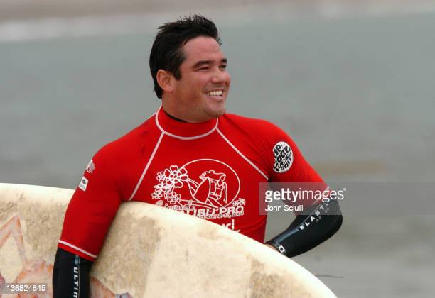 Dean Cain during Rip Curl Presents 'Sand Glam' Benefitting Heal the Bay Celebrity Surfing Competition at Malibu Surfrider Point in Malibu California...