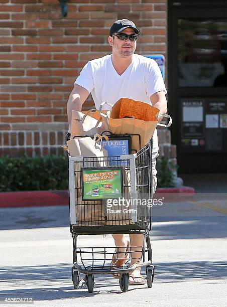 Dean Cain is seen on August 14 2014 in Los Angeles California