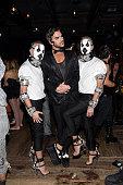 Dean Caten Adam Lambert and Dan Caten attend Matthew Morrison's 5th Annual Halloween Party Presented By Freixenet at Hyde On Sunset on October 25...