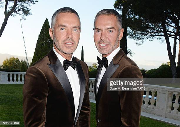 Dean Caten and Dan Caten attend amfAR's 23rd Cinema Against AIDS Gala at Hotel du CapEdenRoc on May 19 2016 in Cap d'Antibes France