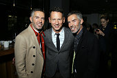 Dean Caten Jim Nelson and Dan Caten attend the GQ Party as a part of Milan Menswear Fashion Week Fall Winter 2015/2016 on January 17 2015 in Milan...