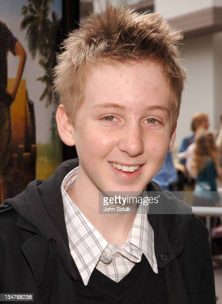 Dean Collins during 'Hoot' Los Angeles Premiere Red Carpet at The Grove in Los Angeles California United States