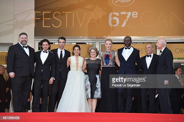 Dean DeBlois Kit Harrington Jay Baruchel America Ferrera Bonnie Arnold Cate Blanchett Djimon Hounsou Jeffrey Katzenberg and President of the Cannes...