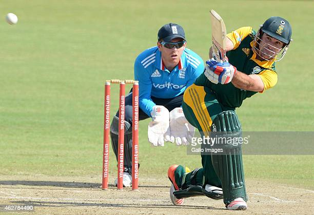 Dean Elgar of South Africa A in action during the 5th ODI match between South Africa A and England Lions at Sahara Park Willowmoore on February 05...