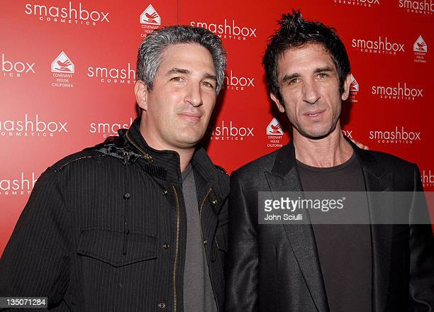 Dean Factor and Davis Factor during Smashbox Cosmetics Celebrate the Holidays and Brent Bolthouse's Birthday at Area in Los Angeles California United...