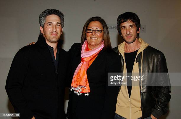 Dean Factor and Davis Factor of Smashbox Studios and Fern Mallis Executive Director of 7th on 6th