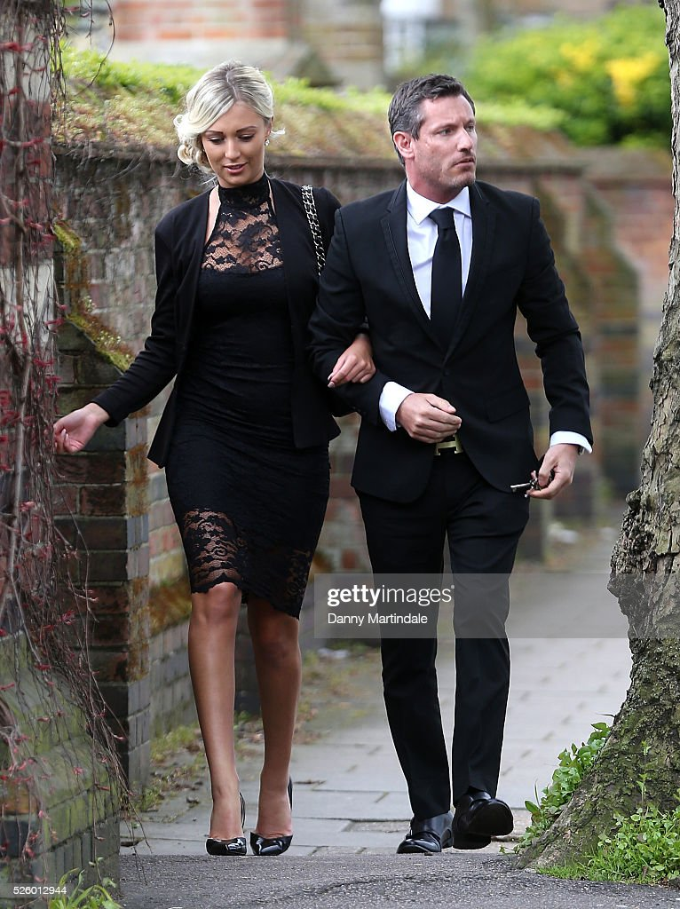 <a gi-track='captionPersonalityLinkClicked' href=/galleries/search?phrase=Dean+Gaffney&family=editorial&specificpeople=224035 ng-click='$event.stopPropagation()'>Dean Gaffney</a> attends the funeral of entertainer, producer and reality television star David Gest at Golders Green Crematorium on April 29, 2016 in London, England.