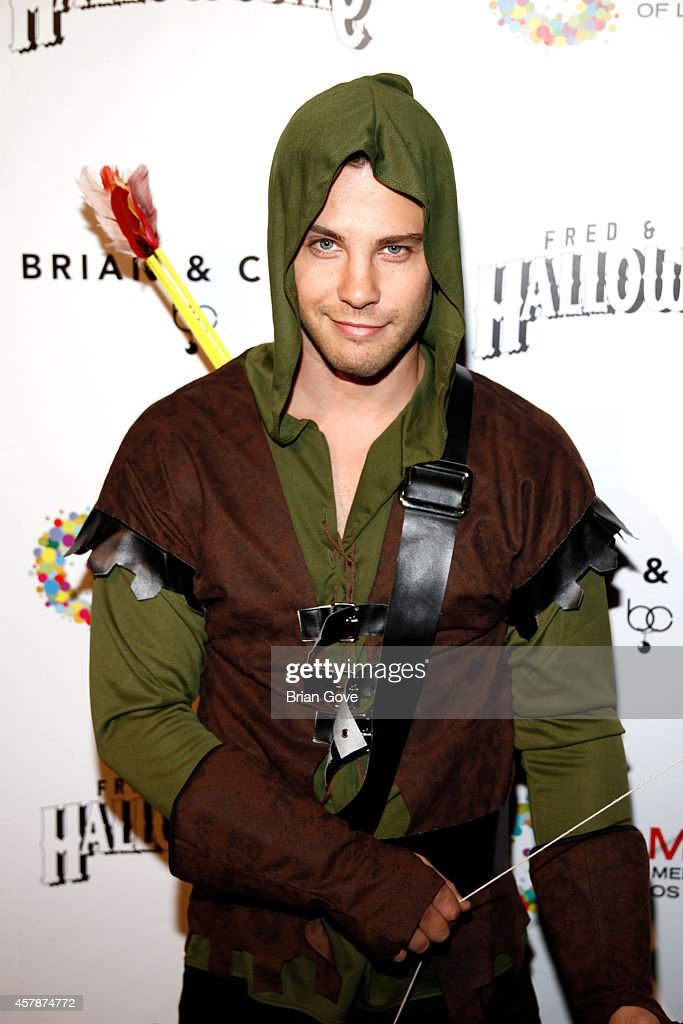 Dean Geyer attends 9th Annual 'Fred Jason's Halloweenie' Presented By Brian Pendleton Chad Goldman at Los Angeles Theatre on October 25 2014 in Los...