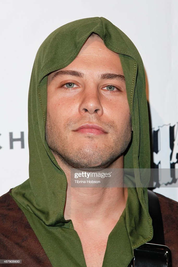 Dean Geyer attends the 9th annual Fred Jason's Halloweenie party at Los Angeles Theatre on October 25 2014 in Los Angeles California