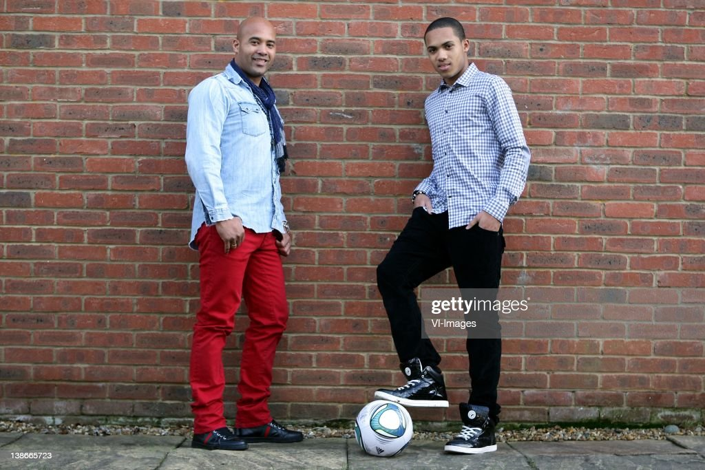 Dean Gorre (L),Kenji Gorre (R) during a photo shoot on January 15, 2012 in Bowden Cheshire, England.
