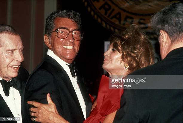 Dean Martin and Angie Dickinson circa 1984 in New York City