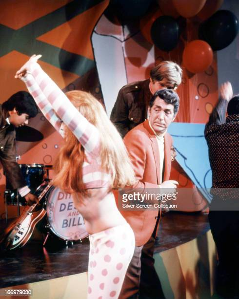 Dean Martin as Matt Helm and AnnMargret as Suzie dancing in a scene from 'Murderers' Row' directed by Henry Levin 1966