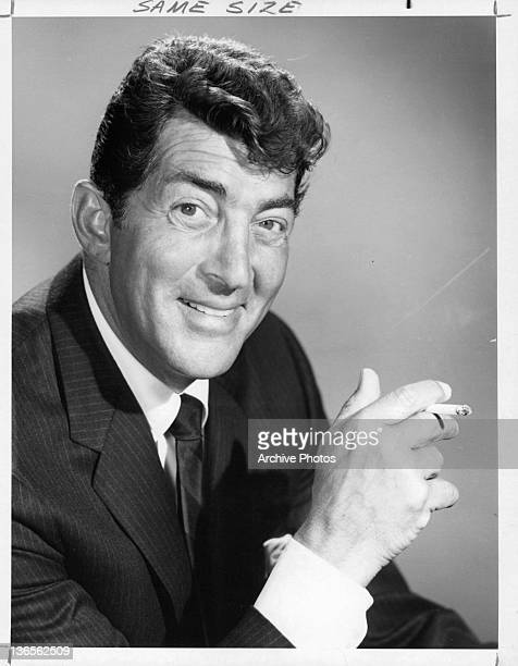 Dean Martin publicity portrait for television series 'The Dean Martin Comedy Hour' 1965