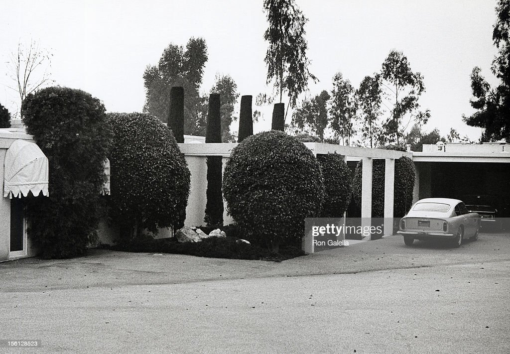 Dean Martin's Home on January 1, 1970 in Beverly Hills, California.