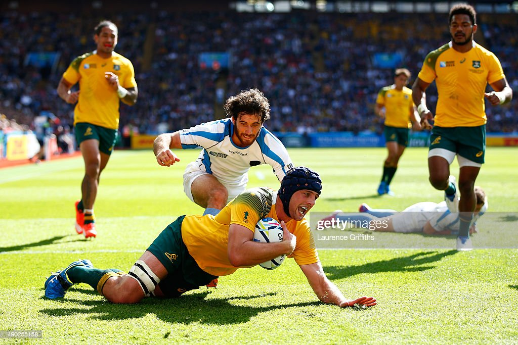 Australia v Uruguay - Group A: Rugby World Cup 2015